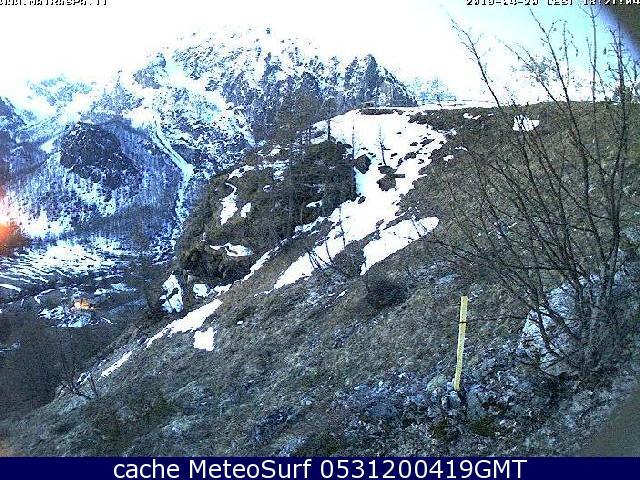 webcam Acceglio Bric Cassin Cuneo