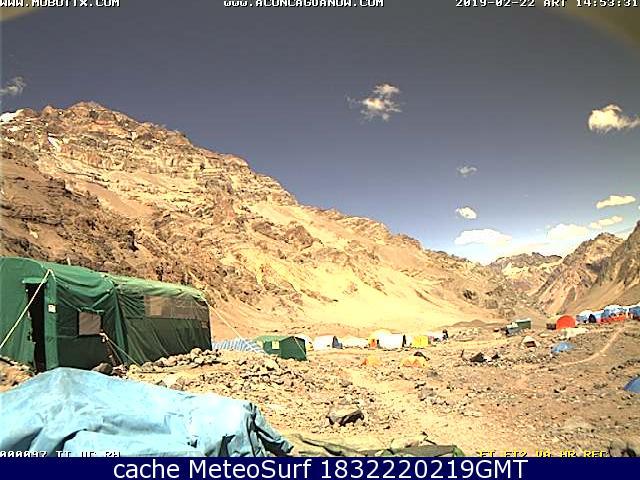 webcam Mount Aconcagua Las Heras