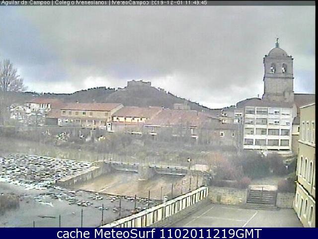webcam Aguilar de Campoo Palencia