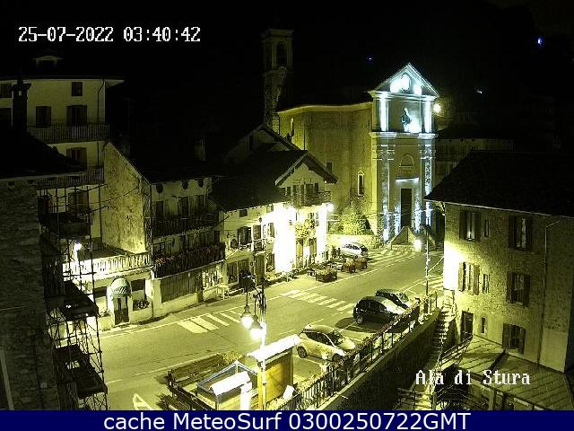 webcam Ala di Stura Turín