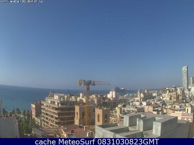 webcam Alacant Alicante Alicante