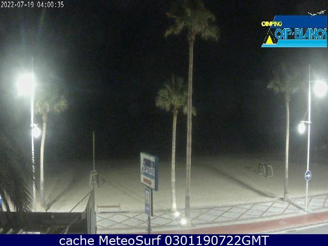 webcam Altea Cap Blanch Alicante