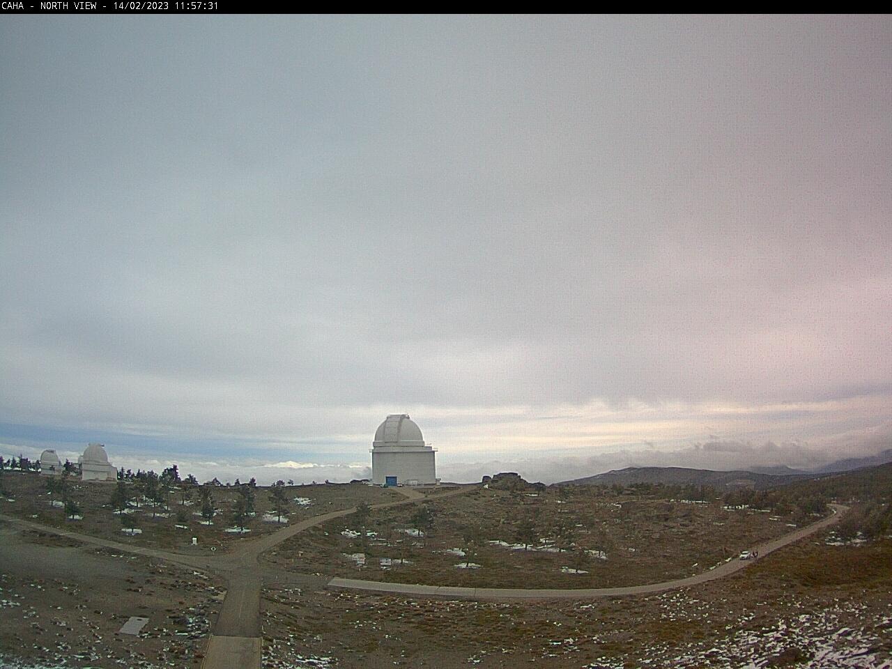 webcam Observatorio Calar Alto Almeria