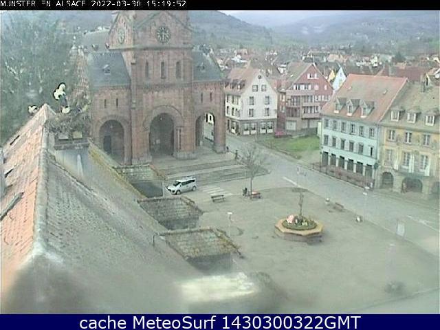 webcam Munster Haut Rhin
