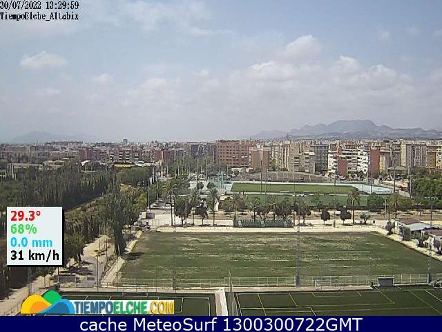 webcam Altabix Alicante