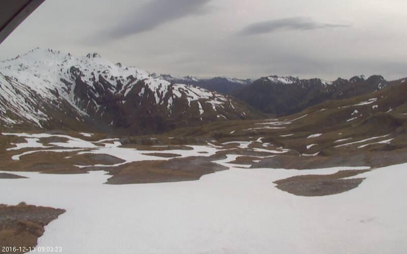 webcam Mount Cook Queenstown-Lakes