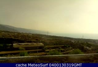 webcam Arafo Santa Cruz de Tenerife