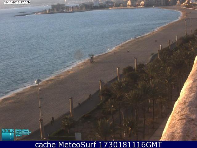 webcam Juanitas, Playa de Palma, El Arenal Islas Baleares