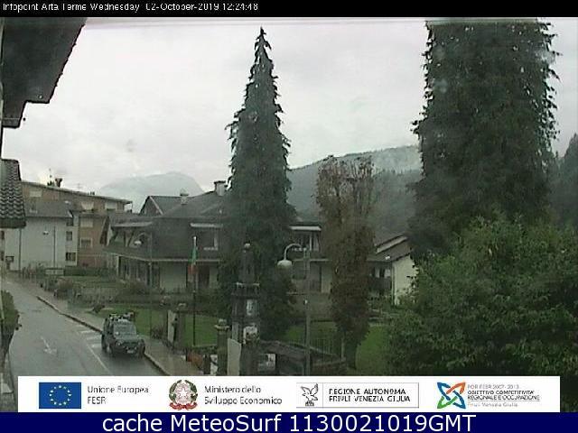 webcam Arta Terme Udine