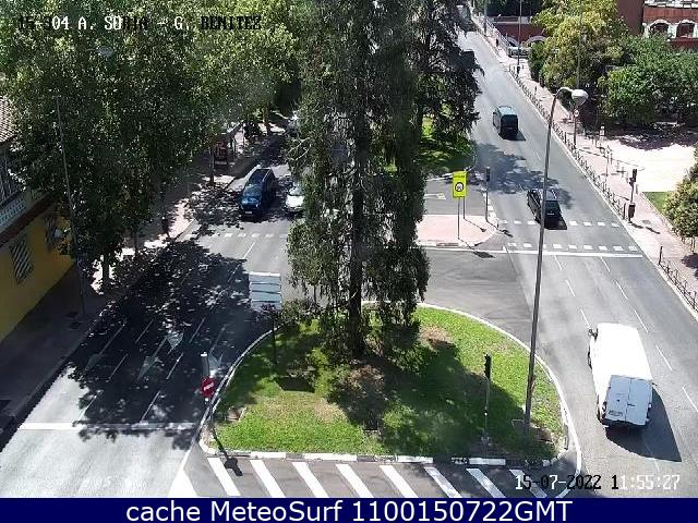 webcam Arturo Soria G Benitez Ciudad de Madrid
