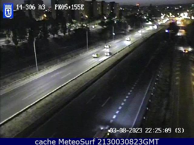 webcam Autovia A3 Antorcha Ciudad de Madrid