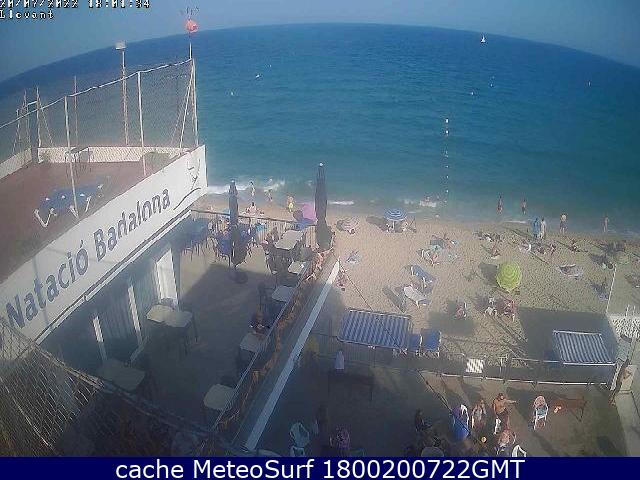 webcam Badalona Barcelona