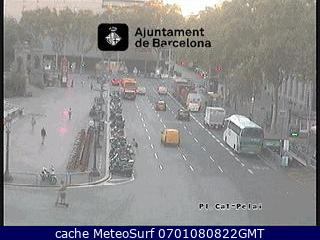 webcam Plaza de Catalu�a Barcelona
