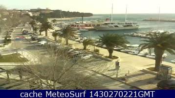 webcam Baska Voda Split-Dalmatia