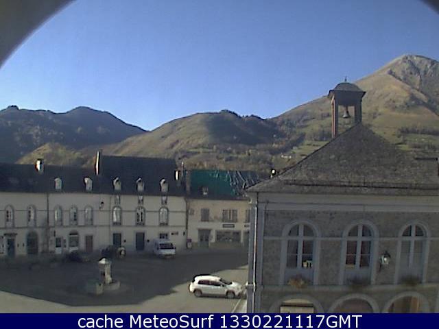 webcam Bedous Vallée d'Aspe Pyrénées Atlantiques