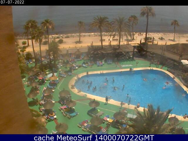 webcam Benalmadena Sunset Beach Club Malaga