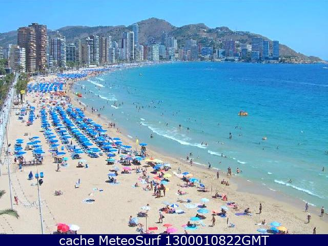 webcam Benidorm Alicante
