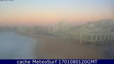 webcam Biarritz Grande Plage Pyrénées Atlantiques