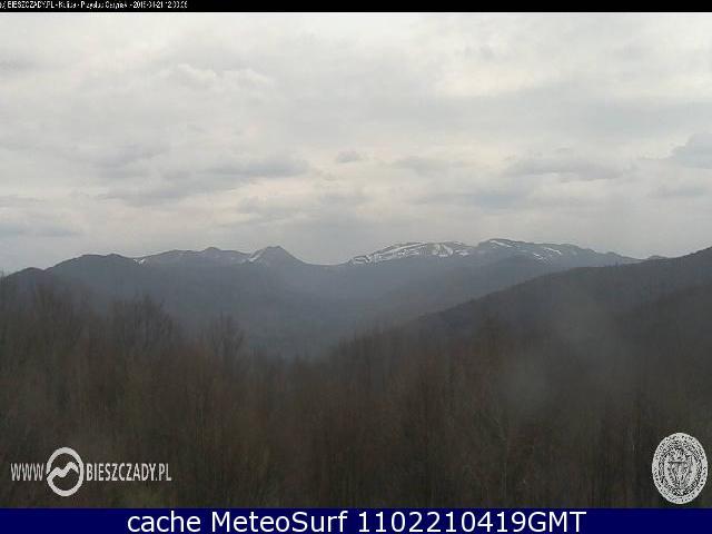 webcam Bieszczady National Park Bieszczady