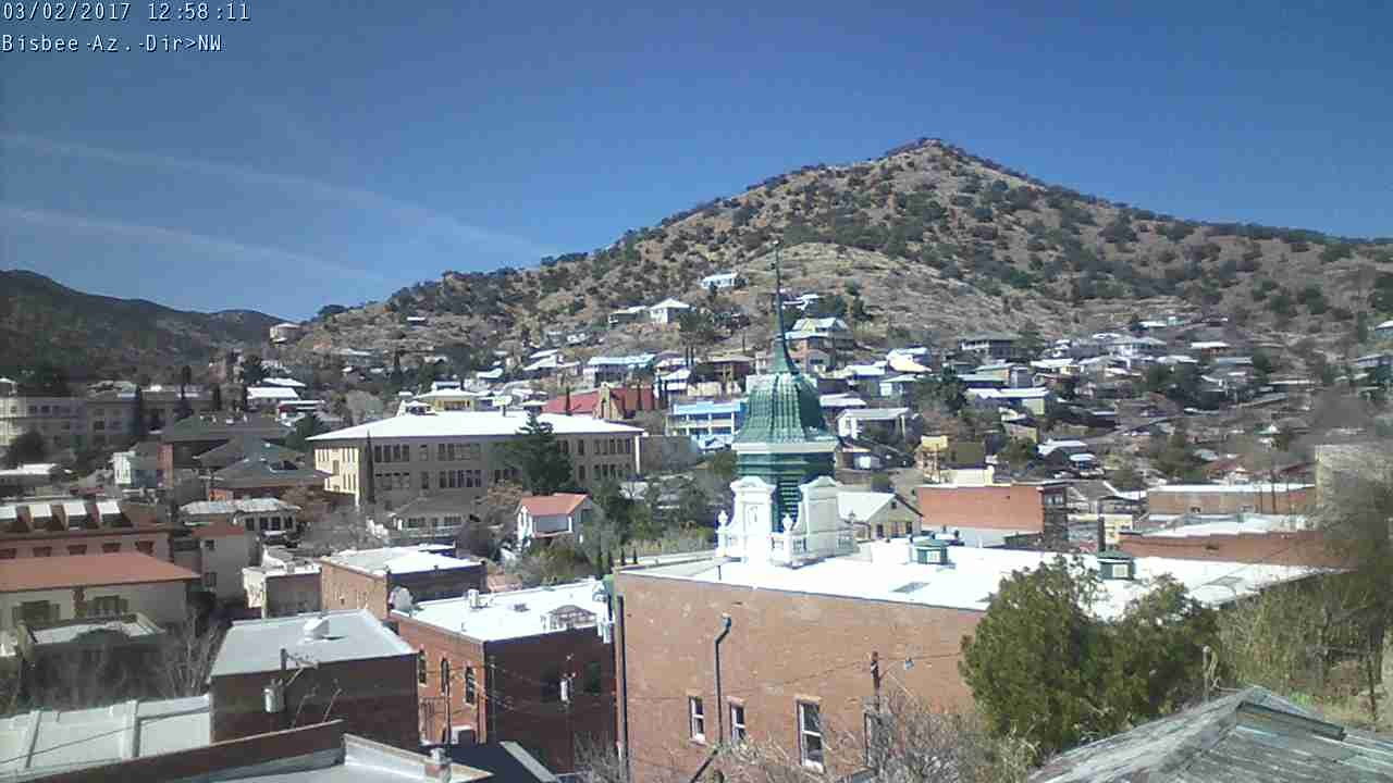 webcam Bisbee