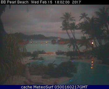 webcam Bora Bora Islas de la Sociedad