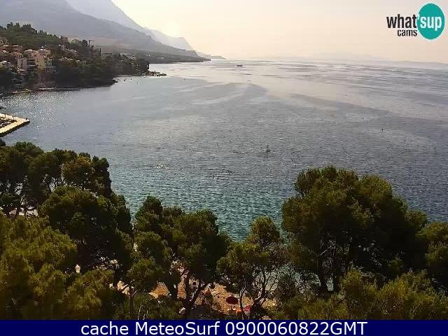 webcam Brela Split-Dalmatia