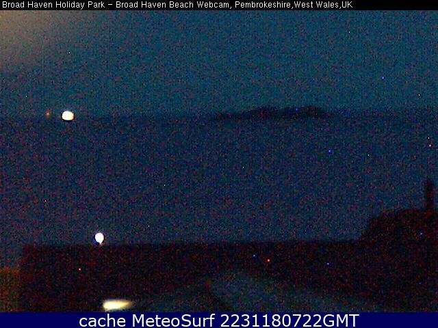 webcam Broad Haven Dyfed