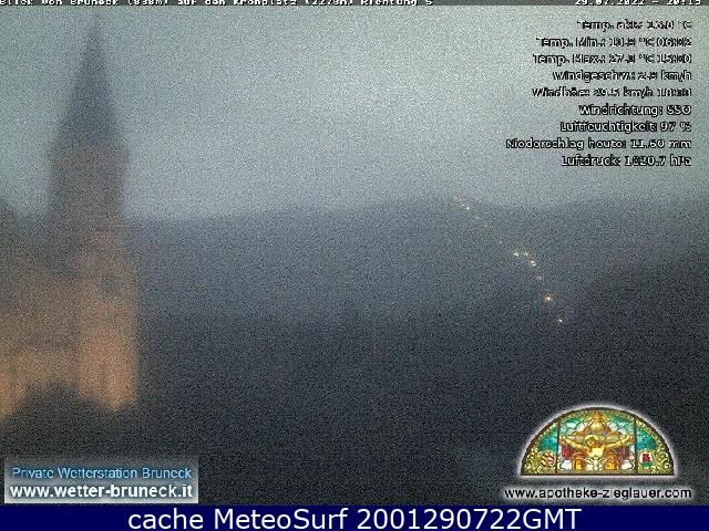 webcam Brunico Bolzano