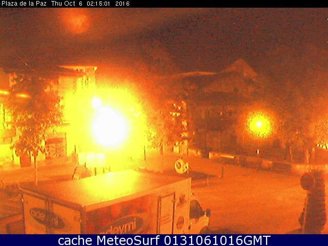 webcam Plaza Cabezon de la Sal Cantabria