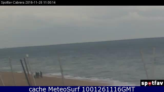 webcam Cabrera de Mar Barcelona