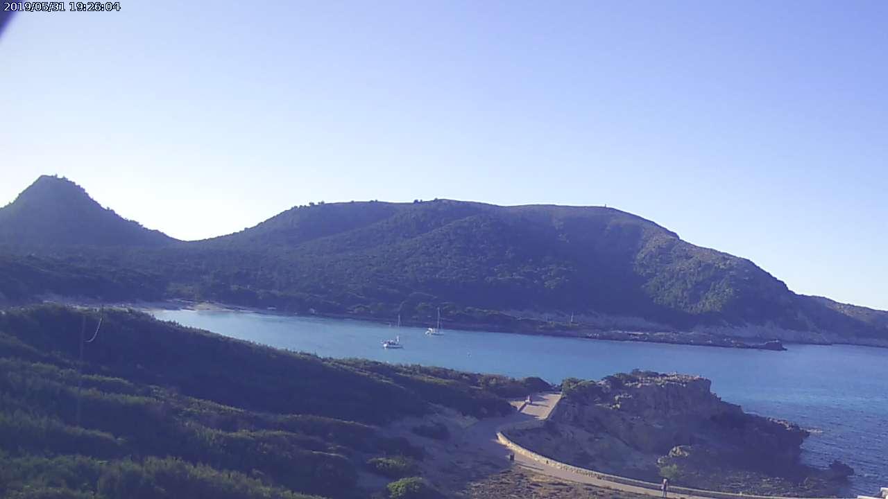 webcam Cala Agulla Islas Baleares
