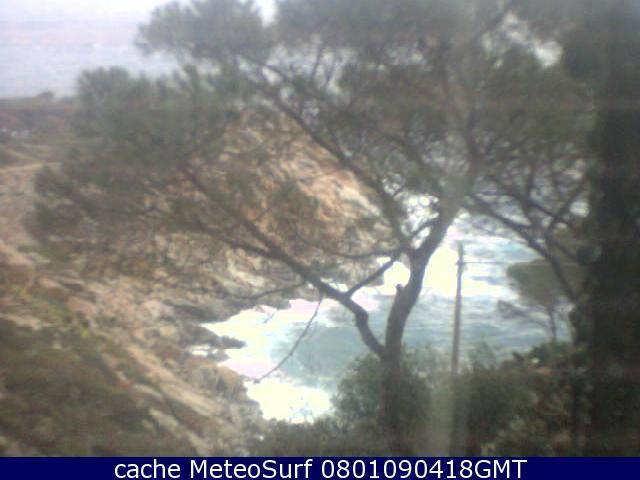 webcam Cala degli Alberi Grosseto