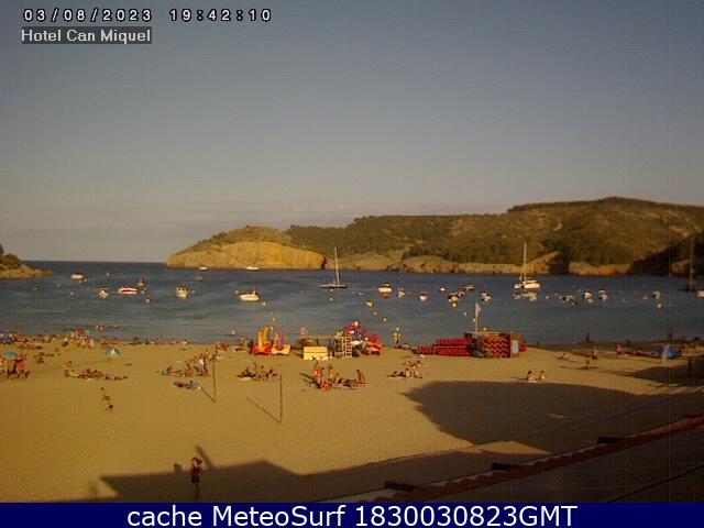 webcam Cala Montgo Gerona