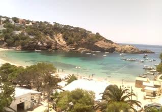 webcam Cala Vadella Islas Baleares