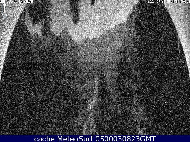 webcam Caldera de Taburiente Santa Cruz de Tenerife