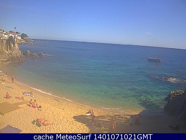 webcam Calella de Palafrugell Hotel Gerona