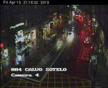 webcam Calvo Sotelo Santander