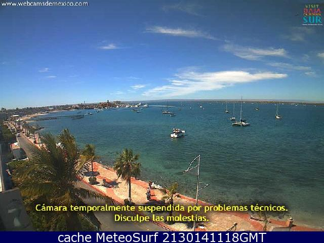 webcam La Paz Bay Hotel La Paz
