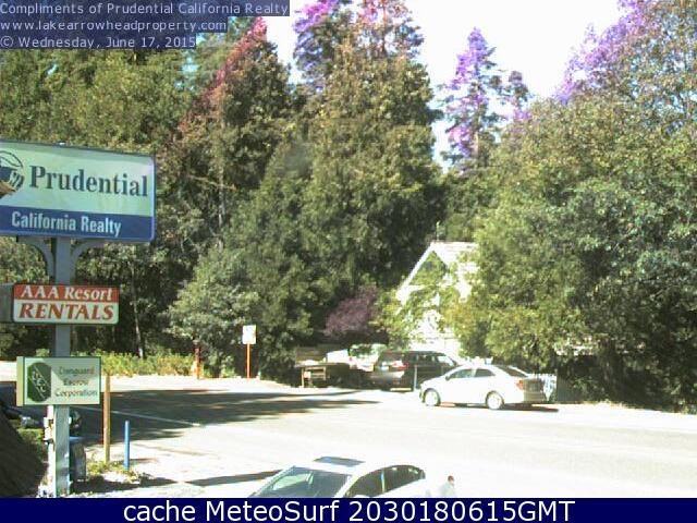 webcam Agua Fria Lake Arrowhead San Bernardino