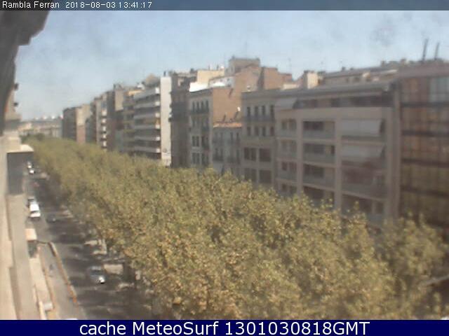 webcam Lleida Rambla San Ferran Lerida