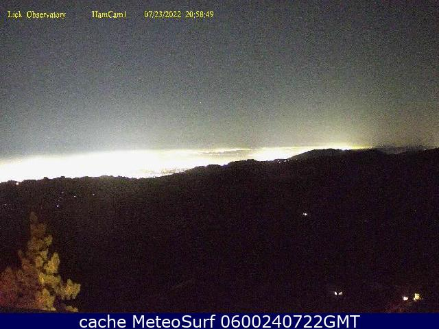 webcam Mount Hamilton San Jose Santa Clara