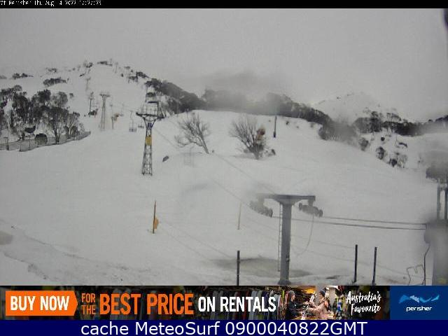 webcam Perisher Snow South-Eastern
