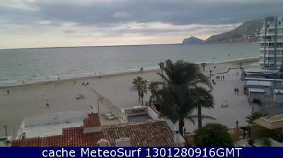 webcam Calpe Playa Levante Alicante