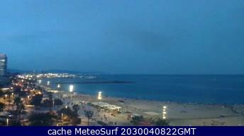 webcam Barceloneta Barcelona