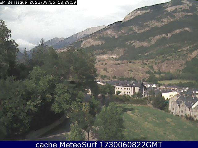 webcam Valle de Benasque Huesca