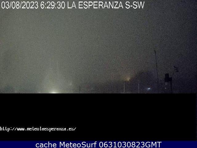 webcam La Esperanza Santa Cruz de Tenerife