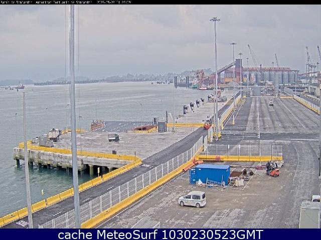 webcam Santander Puerto Muelle Santander