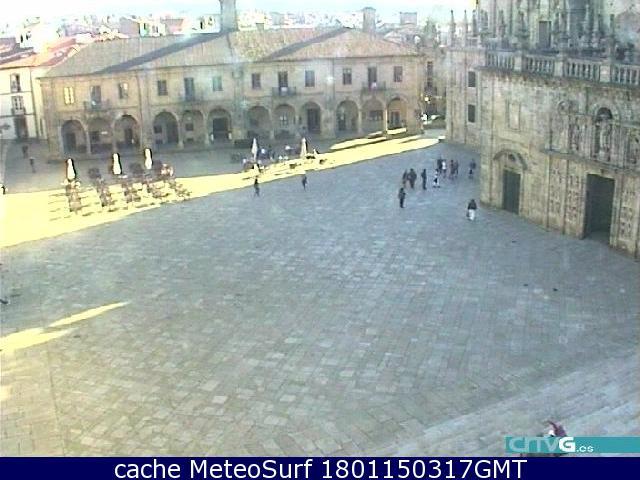 webcam Quintana Santiago Compostela La Coruña