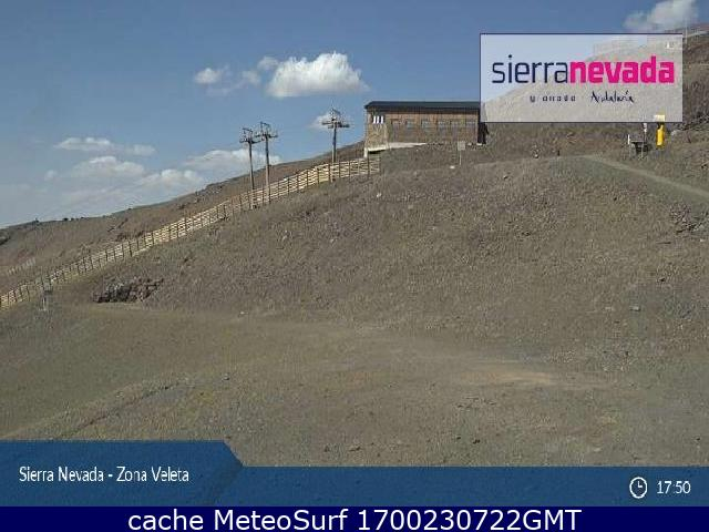 webcam Sierra Nevada Veleta Granada