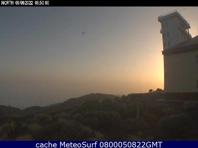 webcam Izaña Santa Cruz de Tenerife